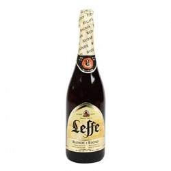 LEFFE BLONDE ABBAYE BOUTEILLE BIERE 75 cl 6.6°